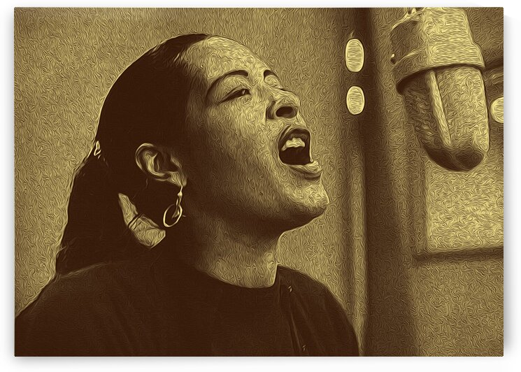 Billie Holiday American singer Collection 14 by RANGGA OZI
