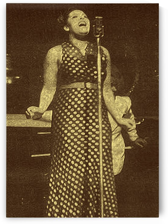 Billie Holiday American singer Collection 13 by RANGGA OZI