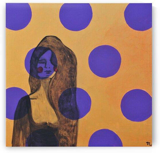 Woman in blue-8 by DaoZedd