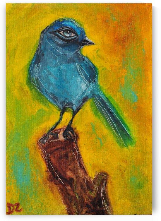 Bird with an eye by DaoZedd