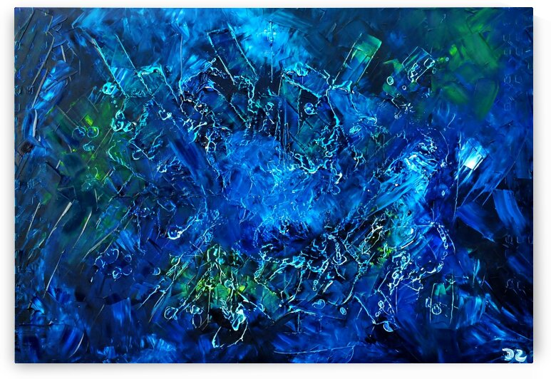 Abstract blue by DaoZedd
