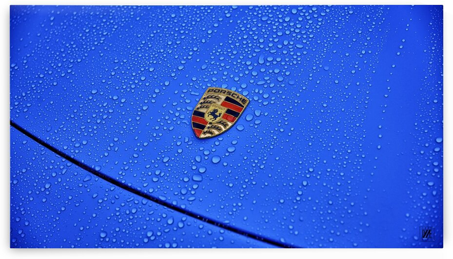 PORSCHE  BLUE REIGN by DAS ERBE