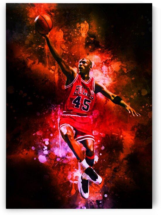 Michael Jordan by Coolbits Art