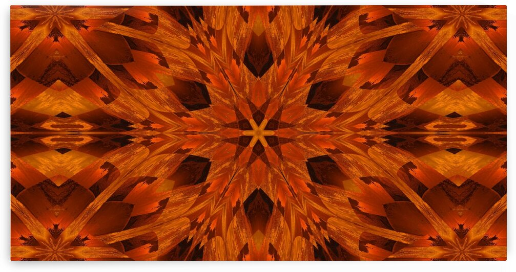Copper Lotus 2 by Sherrie Larch