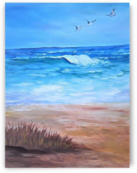Ocean Breeze by Debbie L Fleck