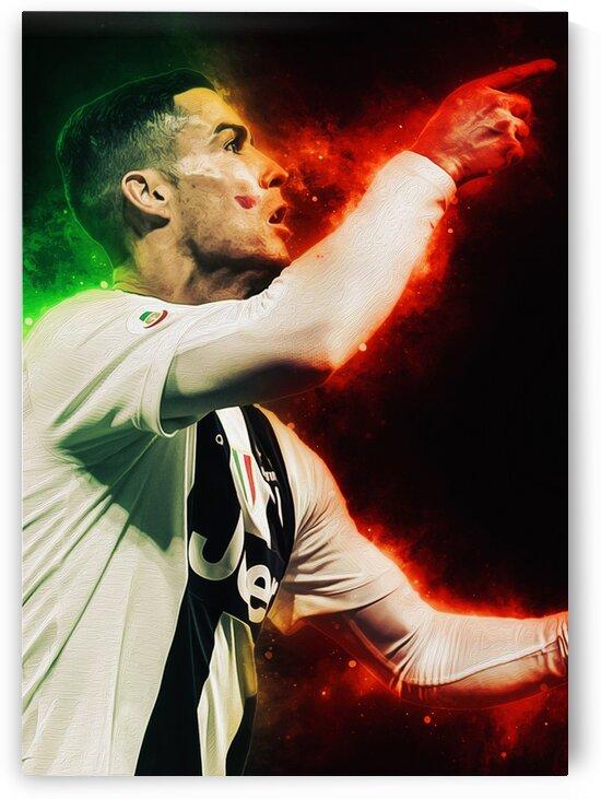 Cristiano Ronaldo by Coolbits Art