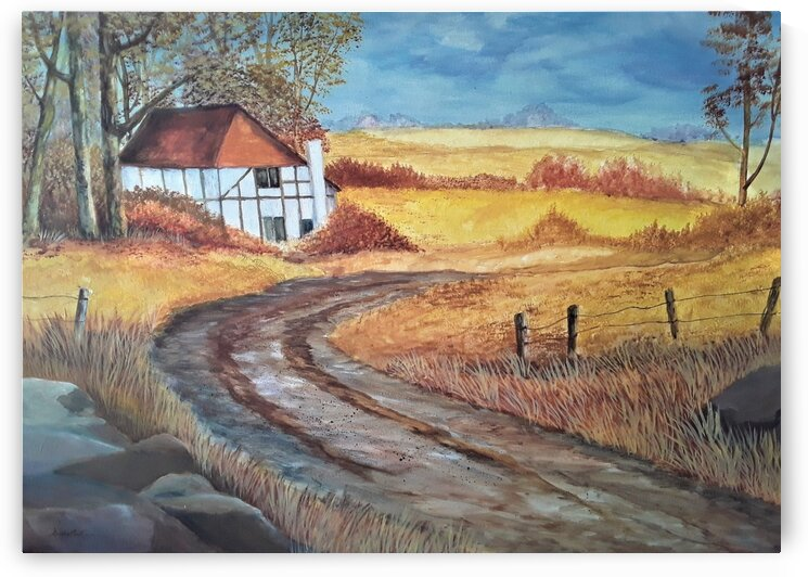 Country Road by Debbie L Fleck