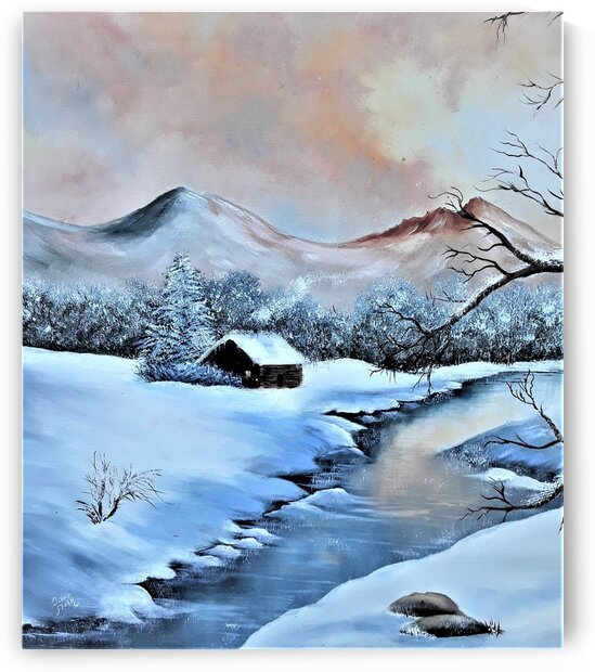 First Snow  by Debbie L Fleck