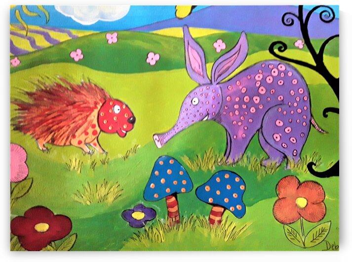 Aardvark by Debbie L Fleck