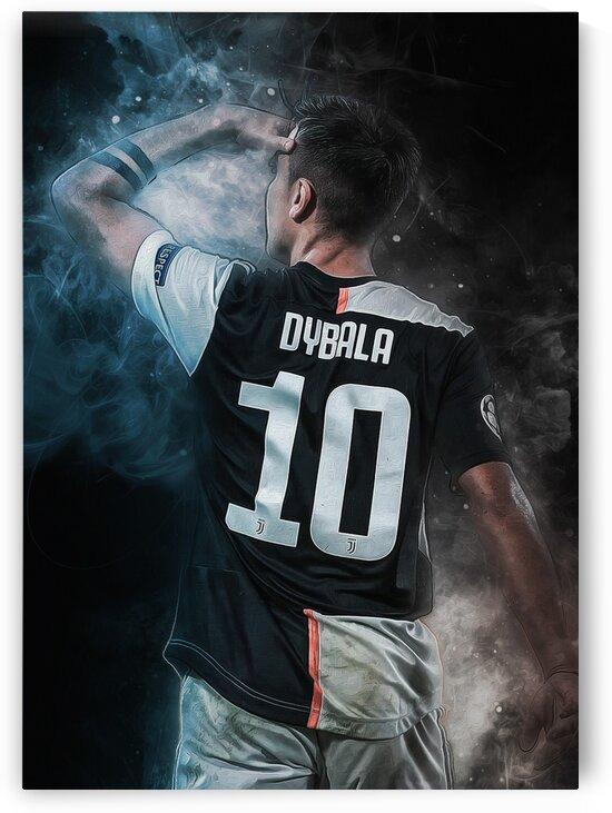Paulo Dybala by Coolbits Art