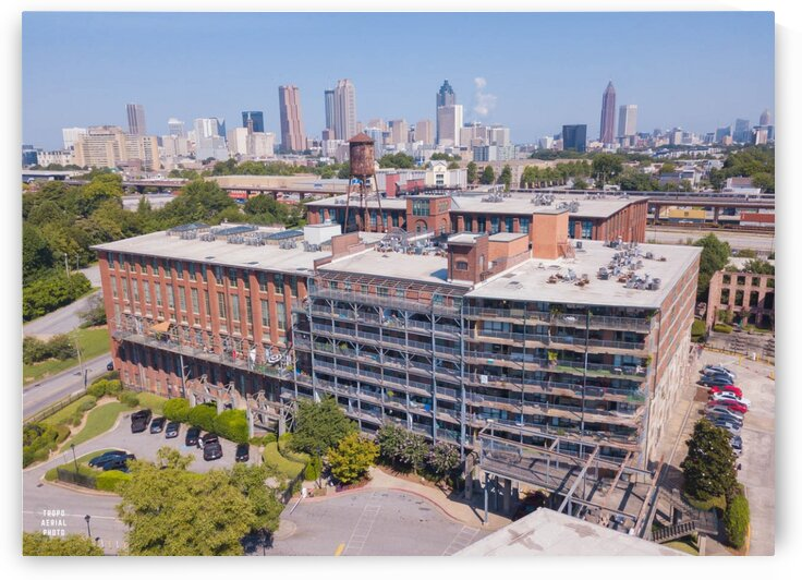 cabbagetown 10  by Tropo Aerial Photo