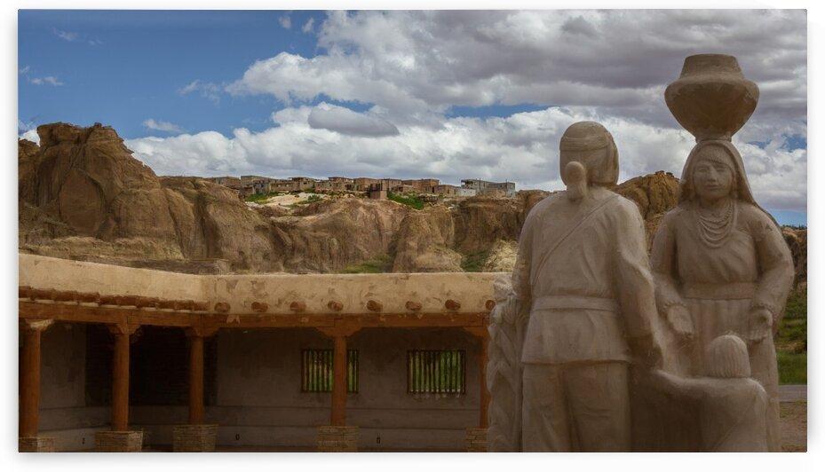 Acoma Pueblo - Abstract by Nicholas