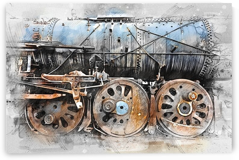 Train Gears by Angel