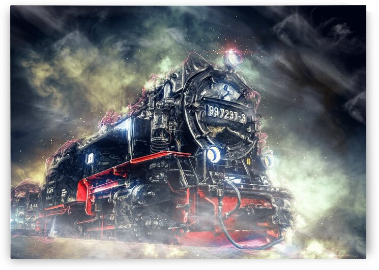 Steam Locomotive by Angel