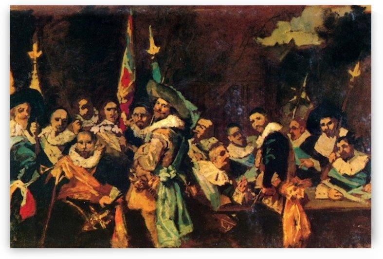 Musical society by Cassatt by Cassatt