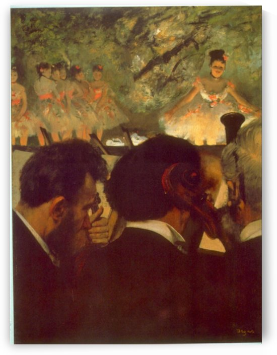 Musicians by Degas by Degas
