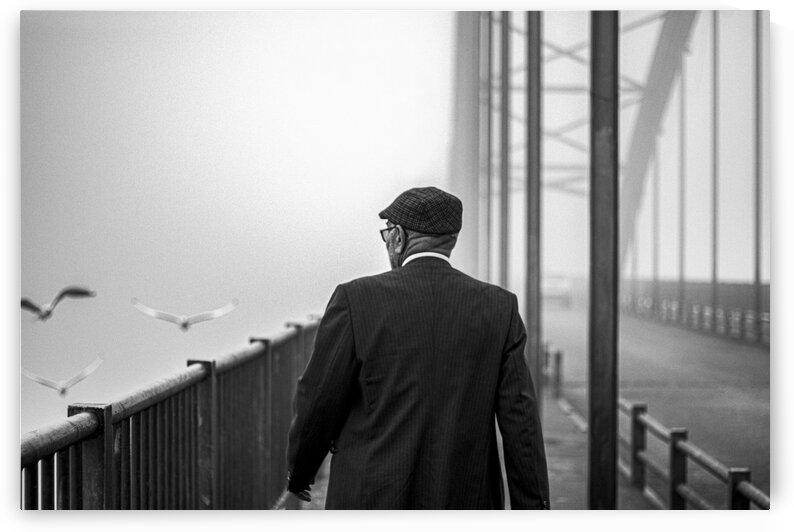 oldman on the bridge by Arash Azarm
