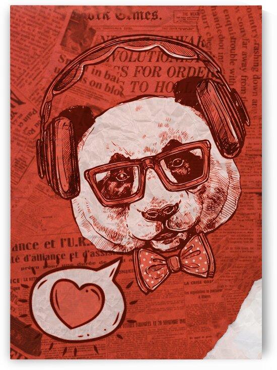 Cool Panda by Belchior Canizo