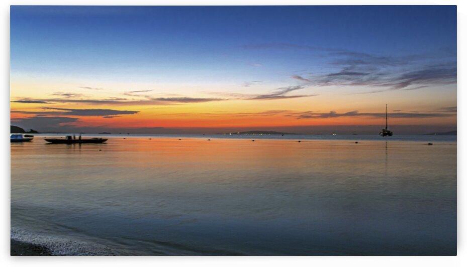 Sunset in Punta Ala by Luigi Girola