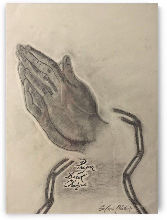 Prayer Hands by Earlene Mcclain/ Darren