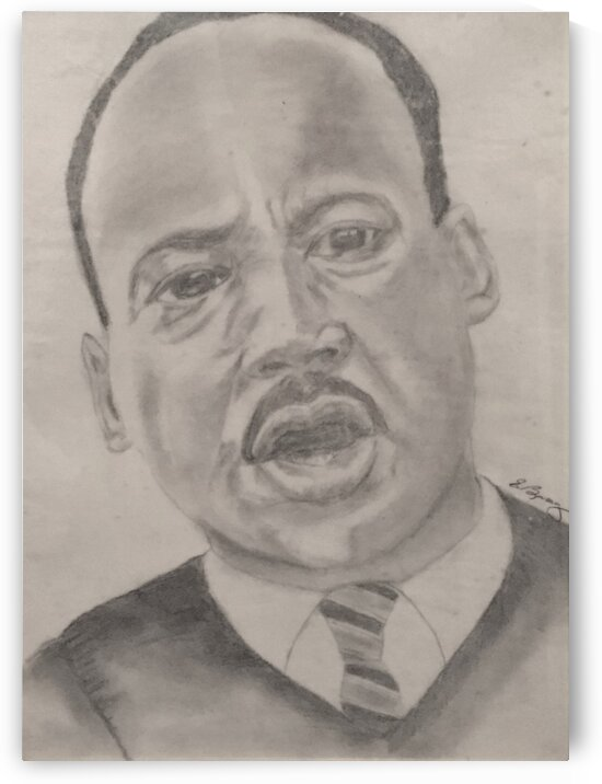 Martin Luther King by Earlene Mcclain/ Darren