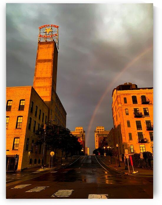 Mill District Rainbow by Lisa Drew Minneapolis Photo Artist
