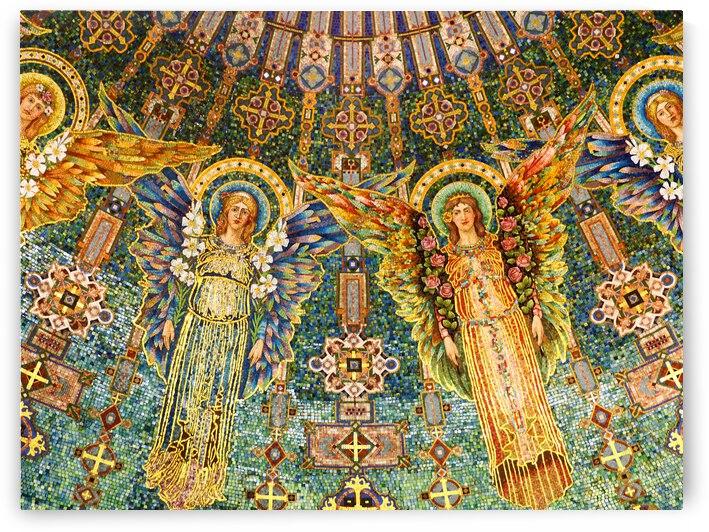 mosaic angels by Lisa Drew Minneapolis Photo Artist