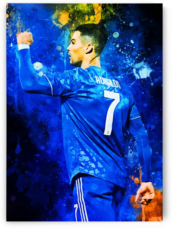 Cristiano Ronaldo by Coolbits Art