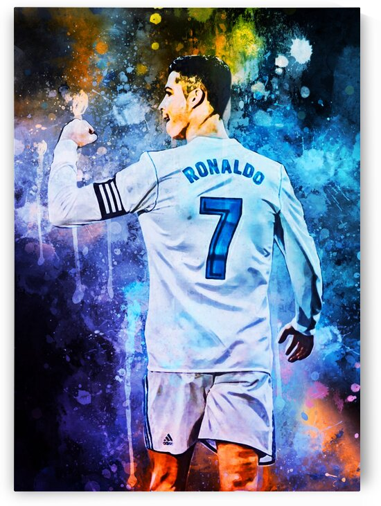 Cristiano Ronaldo by Coolbits Artworks