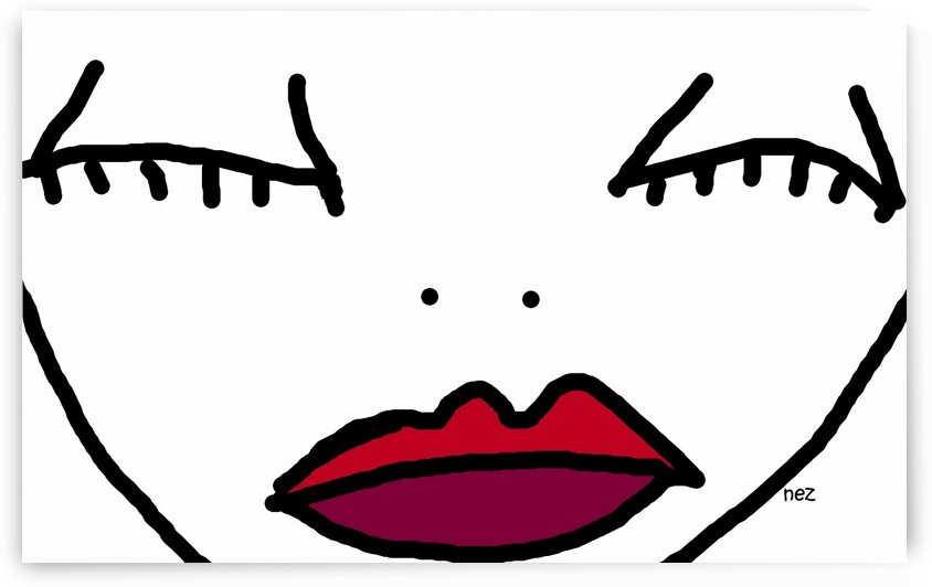 Lips by Efrain Montanez