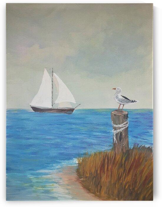 Peaceful Cove by Debbie L Fleck