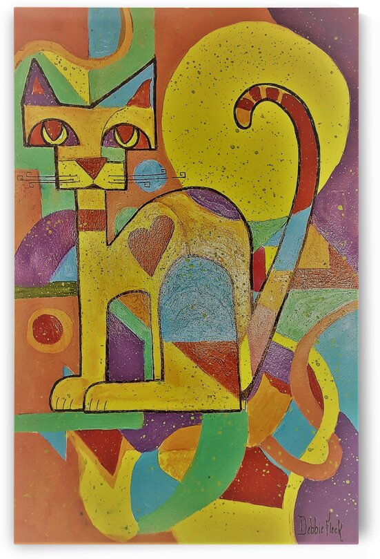 Egyptian Cat by Debbie L Fleck