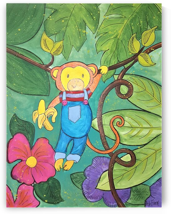 Monkeying Around  by Debbie L Fleck