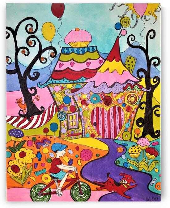Candyland by Debbie L Fleck