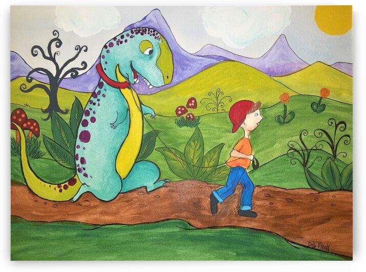 Dino Buddy by Debbie L Fleck