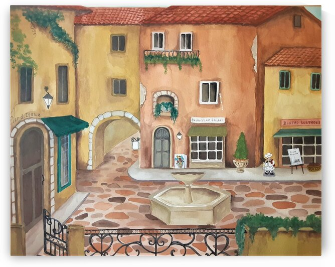 Old Italy by Debbie L Fleck
