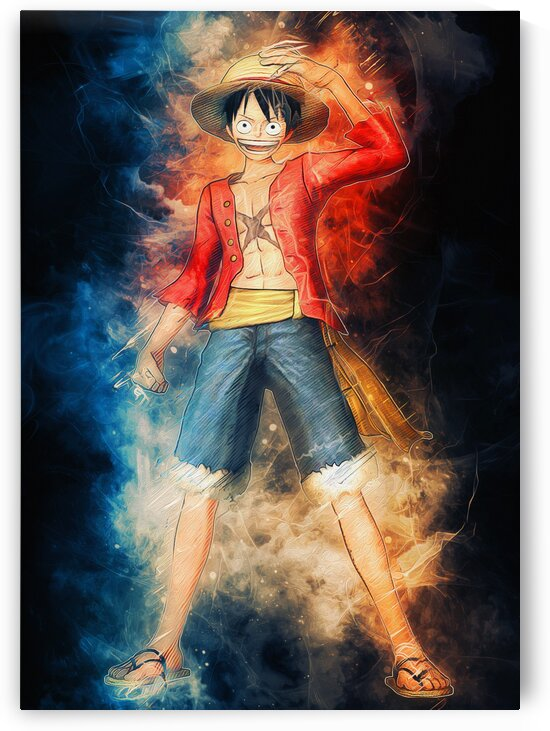 Luffy ONE PIECE by Coolbits Art