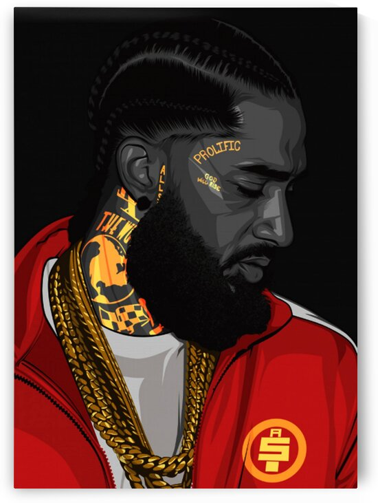 Nipsey Hussle by Coolbits Artworks