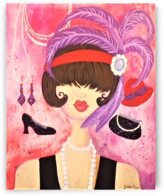 Flapper Girl by Debbie L Fleck