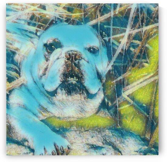 In The BLUES BULL by LeGustavienne