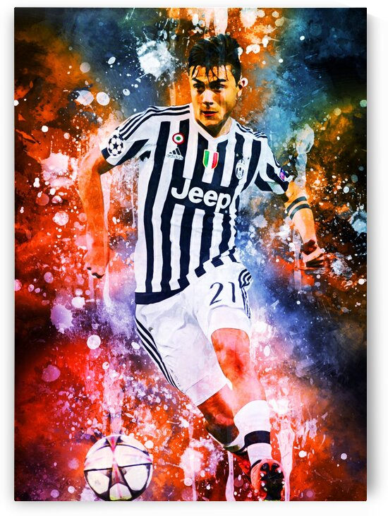 Paulo Dybala by Coolbits Art