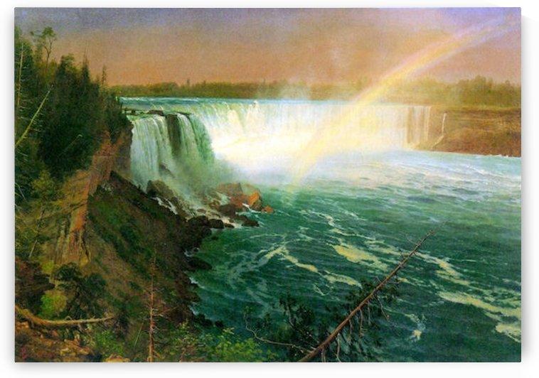 Niagra Falls by Bierstadt by Bierstadt