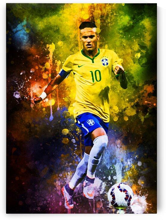 Neymar Jr by Coolbits Art