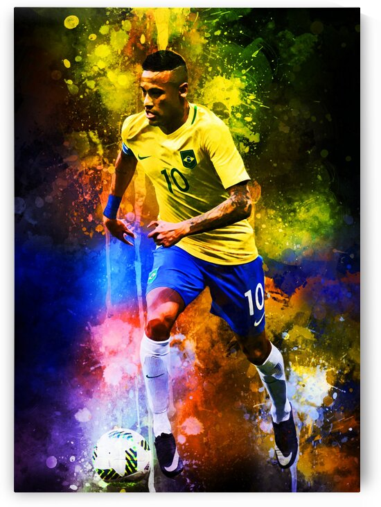 Neymar Jr by Coolbits Art