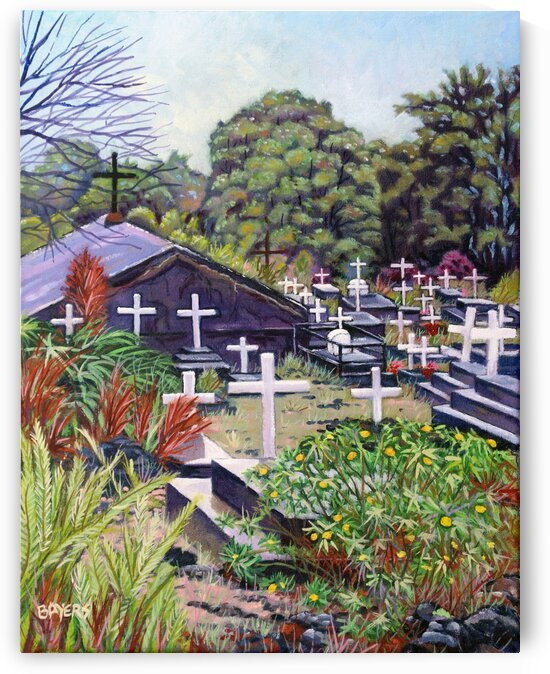 Cemetery in Hawaii by Rick Bayers