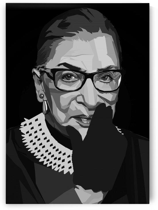 Ruth Bader Ginsburg by Long Art