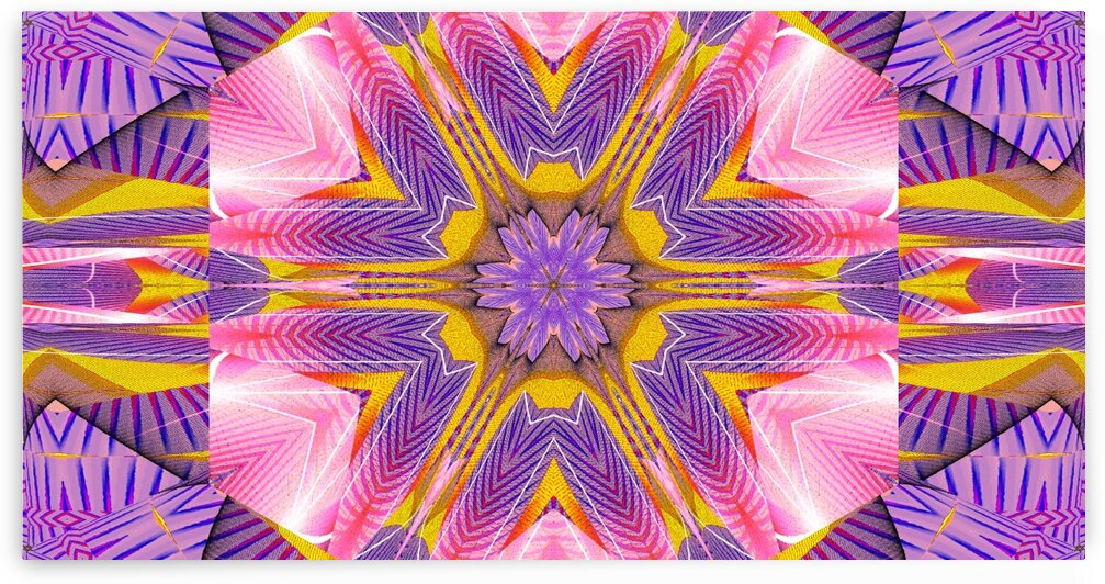 Lotus In The Pink 5 by Sherrie Larch