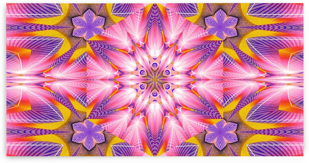 Lotus In The Pink 7 by Sherrie Larch