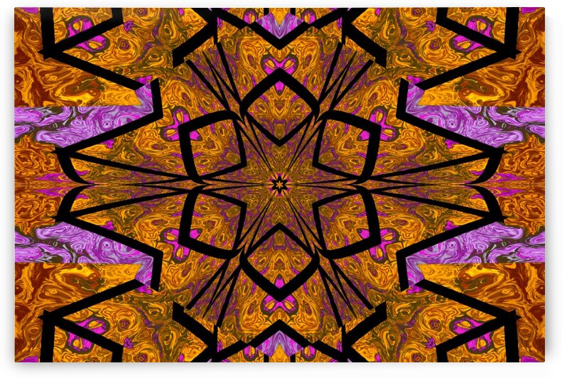 Tangled Lotus 1 by Sherrie Larch