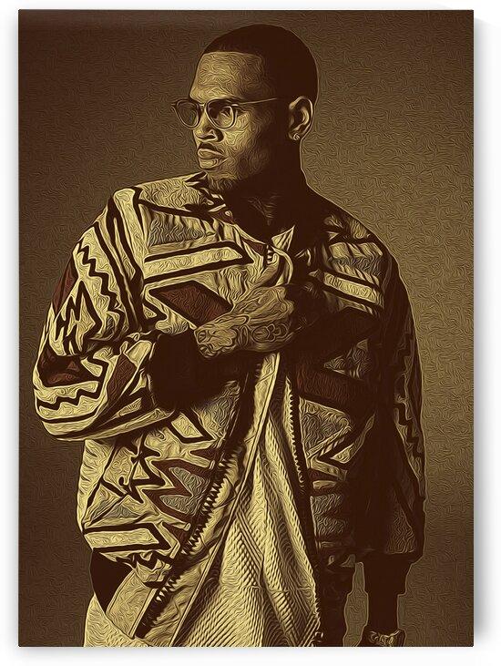 Chris Brown singer-songwriter by RANGGA OZI